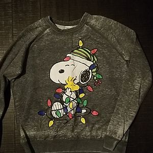 Peanuts Snoopy holiday sweatshirt